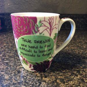 Flower friendship mug